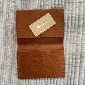 Madewell Leather Passport Wallet